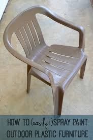 spray paint for plastic furniture all