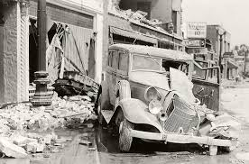 Advanced national seismic system latest earthquakes map and list (past 24 hours, m2.5+). Long Beach Earthquake Damage 1933 Bizarre Los Angeles