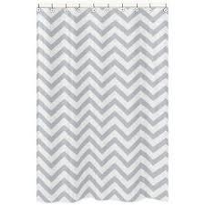 grey chevron shower curtains. Wonderful Grey Sweet Jojo Designs Chevron Shower Curtain In GreyWhite To Grey Curtains M