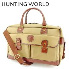 hunting world hunting world boston bag travel bag traveling bag lady s men 2way shoulder safari today