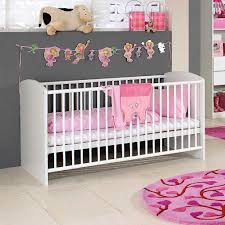 baby room for girl. Baby Nursery:Extraordinary Girl Room With White Nursery Cribs And Dark Grey Wall Paint For