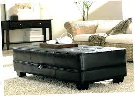 leather ottomans storage ottoman coffee table image of bench coaster faux white storag