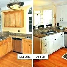 Kitchen Cabinets Refacing Diy Amazing Diy Cabinet Refinish Citizenconnect