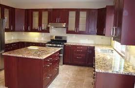 white quartz countertops with cherry cabinets deductour com small kitchen design guide medium