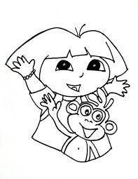 Coloring Pages Dora Coloring Pages 02 Free Childrens Coloring Free