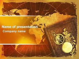 History Background For Powerpoint Historical Exploration Powerpoint Template Backgrounds 06590
