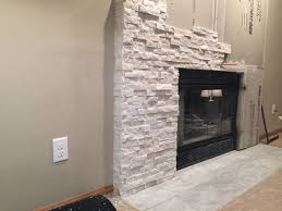 foxy stone over brick fireplace with fresh stacked stone fireplaces rh smapin com dry stack stone