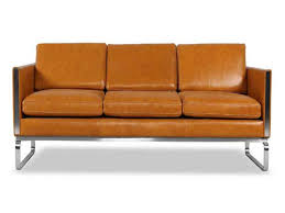 where to for mid century modern sofas crate and barrel leather chair