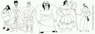Small Picture Fabulouuus Disney Villains Line art by ColdHeartedCupid on DeviantArt