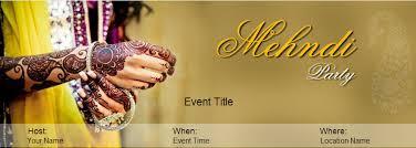 Mehendi Party Invitation Wording Yoovite