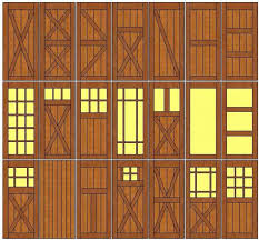 custom barn door designs