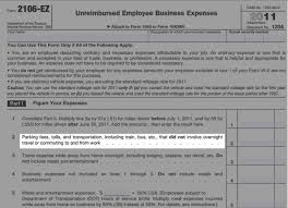Business Expense Form Template Free Mesmerizing Employees Can Deduct The Mileage Employers Don't Reimburse HR