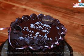 Birthday Cake For Dear Brother Name Happy 16001067 Attachment