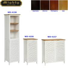 modern bathroom linen cabinets. Louvered Style Linen Cabinets Modern Bathroom Vanity 1 S
