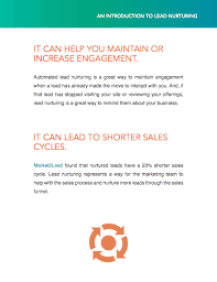 Lead Nurturing Free Guide An Introduction To Lead Nurturing