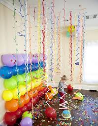 Decorating With Balloons Balloon Wall Decor Decorating With Balloons Creative Home