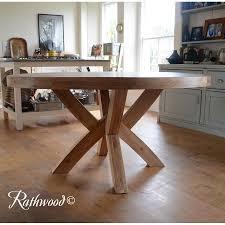 stunning design ideas round oak dining table 10