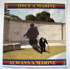 Once A Marine Always A Marine Once A Marine Always A Marine Car Sticker Fisher Patton