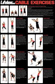Body By Jake Tower 200 Exercise Chart Pdf Pin On Cables