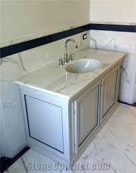 white bathroom vanities with marble tops. Creative Of Marble Bathroom Vanity Tops Statuario Carrara Regarding Top Design 5 White Vanities With