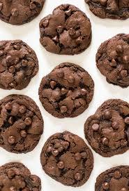 gooey double chocolate chip cookies. Wonderful Gooey Double Chocolate Chip Cookies Inside Gooey L