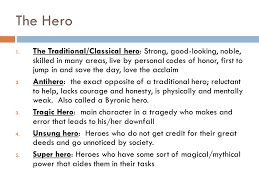 what does it mean to be a hero archetypes in literature ppt  4 1