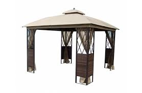 essential garden gazebo. Essential Garden Ridgeway 10\u0027 X Wicker Gazebo