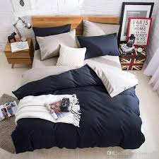 pillow sets for bed.  Bed Bedding Sets Bed Sheets Pillow Covers Comforter Cover Pillowcase  Winter Warm Soild Color Fourpiece Set Online  Inside For
