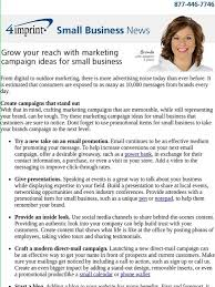 4Imprint Inc.: Small Business News: Grow Your Reach With Marketing ...