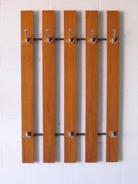 Wall Hung Coat Rack MIDCENTURY MODERN WALL MOUNT COAT RACK Amsterdam Modern 71