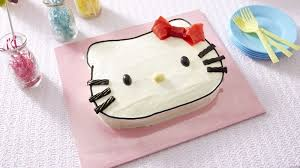 Hello Kitty Cake Recipe Bettycrockercom