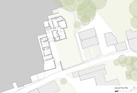 ground floor plan of stone and zinc house in bria england by bennetts associates