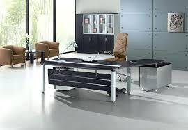 modern glass office desk piels jpg modern glass executive office desk