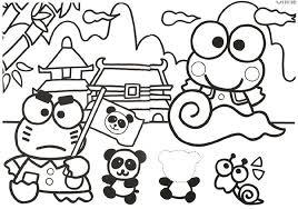 Kawaii hello kitty coloring books for girls and adults. Kero Keroppi Coloring Pages Webspace Webring People None Colorine Net 5684 Coloring Pages Hello Kitty Coloring Coloring Pictures