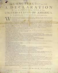 the changes made to jefferson s original rough draught second continental congress