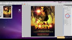 Premium Flyer Template How To Edit Awesomeflyer Com Youtube