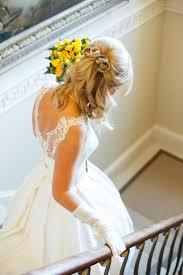結婚式用可愛すぎるハーフアップの髪型参考画像集 Marryマリー