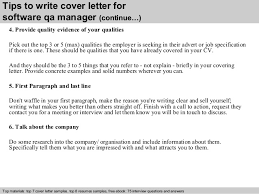 Software Qa Manager Cover Letter Collection Of Solutions Qa Manager