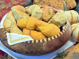 Image result for basket of bread rolls
