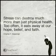 Stress Can Destroy Much More Than Just Physical Health It Eats Away Enchanting Stress Quotes