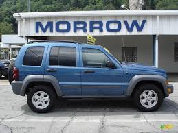2005 Atlantic Blue Pearlcoat Jeep Liberty Sport 4x4 #16268167 ...