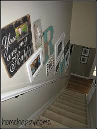 adorable staircase wall ideas best ideas about stairway wall decorating on