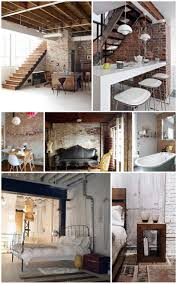Loving exposed brick and loft apartments!