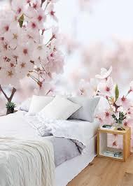 Vlies Fotobehang Kersenbloesem Bloemen Behang Muurmodenl Home