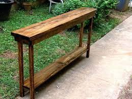 narrow sofa table. 12 Inch Deep Sofa Table Best Narrow Ideas On And .