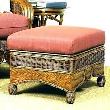 round wicker ottoman rattan coffee table roun