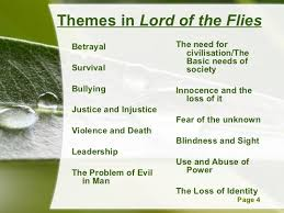 lotf qqt themes in lord of the flies
