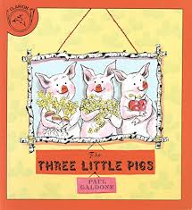 Image result for 3 little pigs book