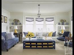 loving room grey blue with yellow
