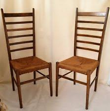 rush chair seat cushions. vintage pair of italian ladder back chairs with woven rush seats marked chair seat cushions